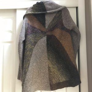 Cynthia Rowley super soft, multicolor sweater.